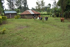 The Water Project: Maraba Community, Shisia Spring -  Home Compound