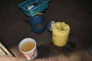 The Water Project: Maraba Community, Shisia Spring -  Water Storage Containers