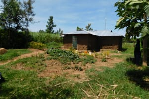 The Water Project: Musango Commnuity, Wabuti Spring -  Home Compound