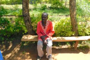 The Water Project: Eshimuli Community, Mbayi Spring -  Antony Mbayi