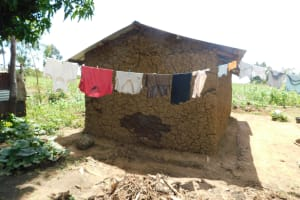 The Water Project: Eshimuli Community, Mbayi Spring -  Clothesline