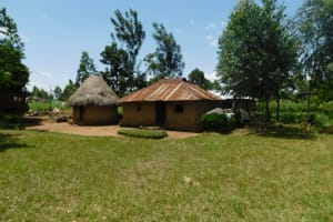 The Water Project: Eshimuli Community, Mbayi Spring -  Compound