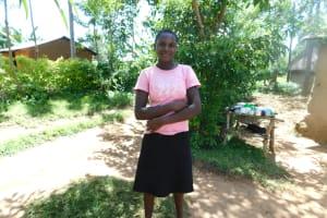 The Water Project: Eshimuli Community, Mbayi Spring -  Dorine