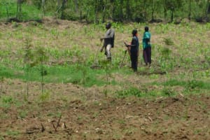The Water Project: Eshimuli Community, Mbayi Spring -  Farming Is The Major Activity