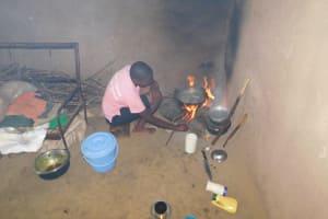 The Water Project: Eshimuli Community, Mbayi Spring -  Preparing Break Fast