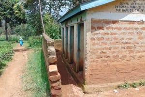 The Water Project: KG Jeptorol Primary School -  Boys Latrines