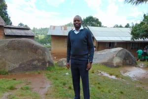 The Water Project: KG Jeptorol Primary School -  Deputy Headteacher Peter Ralph
