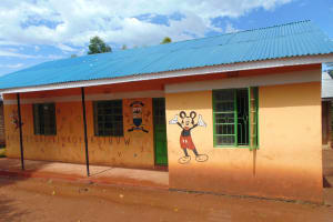 The Water Project: KG Jeptorol Primary School -  Exterior Buildings Ecd Classrooms