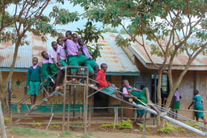 The Water Project: KG Jeptorol Primary School -  Pupils Playing