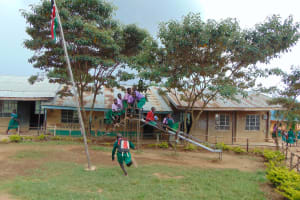 The Water Project: KG Jeptorol Primary School -  School Grounds Pupils Playing