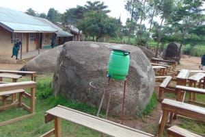 The Water Project: KG Jeptorol Primary School -  School Grounds Handwashing Station