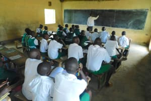 The Water Project: Kitambazi Primary School -  A Class In Session