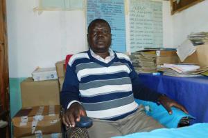 The Water Project: Kitambazi Primary School -  Headteacher John Amoke