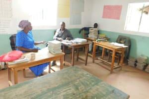 The Water Project: Kitambazi Primary School -  Teachers In The Staffroom