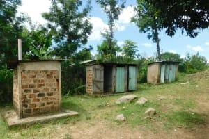 The Water Project: Kitambazi Primary School -  The Ladies Latrines