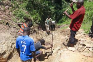The Water Project: Mahira Community, Wora Spring -  Excavation