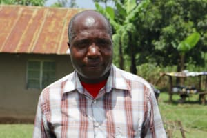 The Water Project: Mahira Community, Wora Spring -  Community Mobilizer Peter