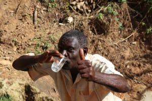 The Water Project: Mahira Community, Wora Spring -  Drinking Water