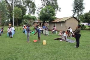 The Water Project: Mahira Community, Wora Spring -  Handwashing