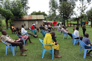 The Water Project: Mahira Community, Wora Spring -  Participants At The Training