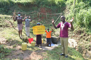 The Water Project: Mahira Community, Wora Spring -  Thank You