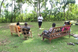 The Water Project: Litinye Community, Shivina Spring -  Training In Progress