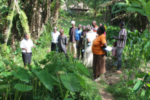 The Water Project: Litinye Community, Shivina Spring -  Onsite Training At Shivina Spring