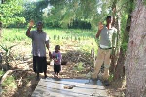 The Water Project: Litinye Community, Shivina Spring -  Sanplat Celebration