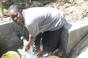 The Water Project: Litinye Community, Shivina Spring -  Water Celebration