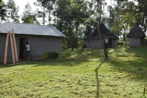 The Water Project: Machemo Community, Boaz Mukulo Spring -  The Boaz Home Compound