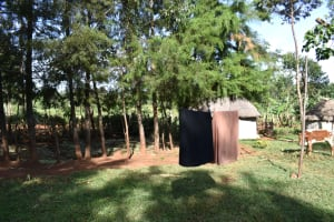 The Water Project: Machemo Community, Boaz Mukulo Spring -  Clothesline