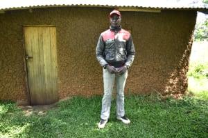 The Water Project: Makhwabuye Community, Majimazuri Lusala Spring -  Chilali Outside His Home