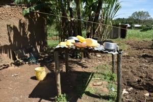 The Water Project: Makhwabuye Community, Majimazuri Lusala Spring -  Dishrack