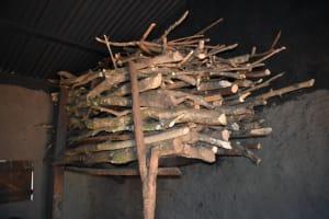 The Water Project: Makhwabuye Community, Majimazuri Lusala Spring -  Inside Kitchen Firewood Store