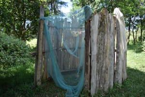 The Water Project: Makhwabuye Community, Majimazuri Lusala Spring -  Bathing Shelter