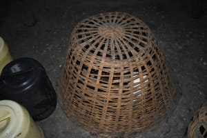 The Water Project: Mukangu Community, Mukasia Spring -  Chicken In A Cage