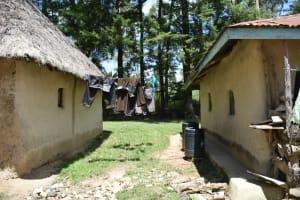 The Water Project: Mukangu Community, Mukasia Spring -  Clothesline