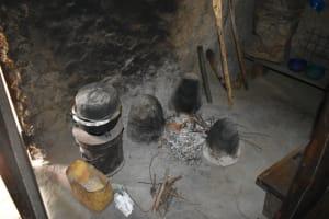 The Water Project: Mukangu Community, Mukasia Spring -  Inside The Kitchen