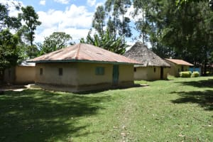 The Water Project: Mukangu Community, Mukasia Spring -  Household Compound