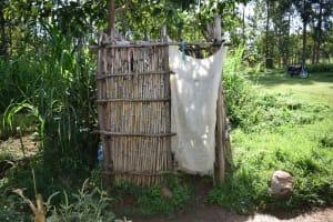 The Water Project: Kimang'eti Community, Kimang'eti Spring -  Bathing Shelter