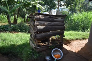 The Water Project: Kimang'eti Community, Kimang'eti Spring -  Dishrack