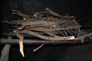 The Water Project: Kimang'eti Community, Kimang'eti Spring -  Firewood Store
