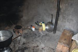 The Water Project: Kimang'eti Community, Kimang'eti Spring -  Inside Kitchen