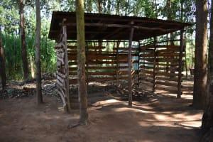 The Water Project: Kimang'eti Community, Kimang'eti Spring -  Animal Pen