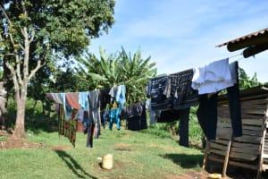 The Water Project: Kimang'eti Community, Kimang'eti Spring -  Clothesline
