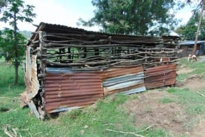 The Water Project: Bukhakunga Community, Wakukha Spring -  Animal Pen