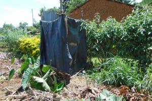 The Water Project: Bukhakunga Community, Wakukha Spring -  Bathing Shelter