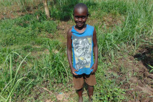 The Water Project: Bukhakunga Community, Wakukha Spring -  Boy Posing For A Picture