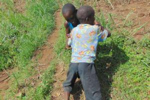 The Water Project: Bukhakunga Community, Wakukha Spring -  Children Playing