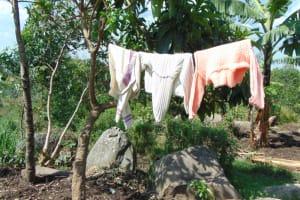 The Water Project: Bukhakunga Community, Wakukha Spring -  Clothesline